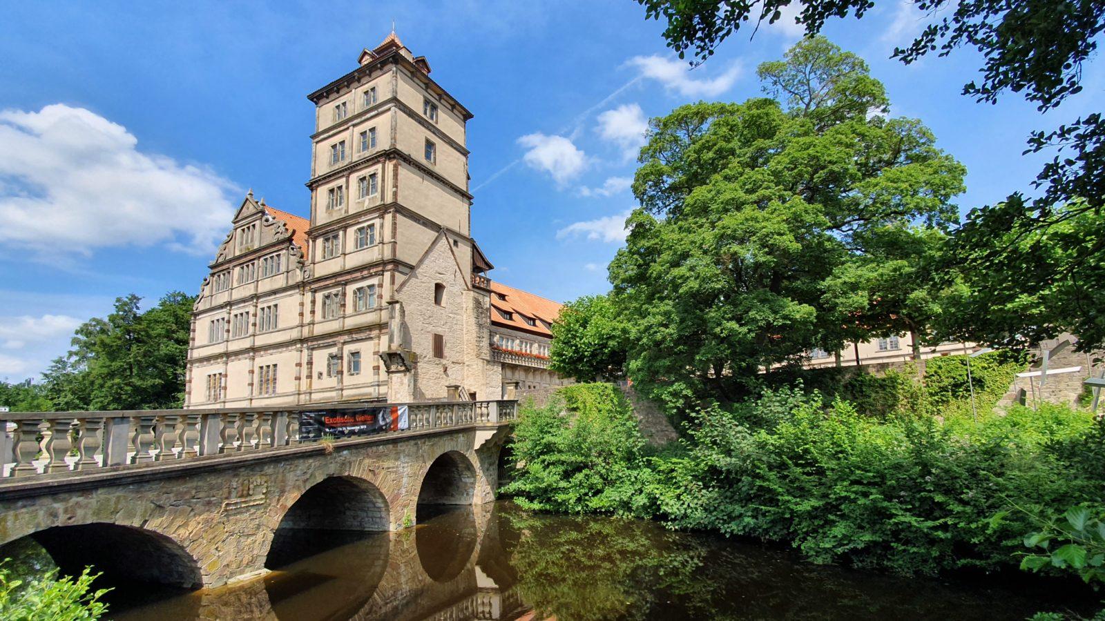 Sehenswürdigkeiten im Teutoburger Wald, Ausflugstipps im Teutoburger Wald, Schloss Brake, Lemgo