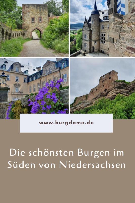 Sehenswert in Südniedersachsen, Burgen in Niedersachsen