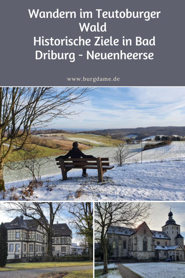 Rundwanderwege in Ostwestfalen, Rundwanderung bei Bad Driburg